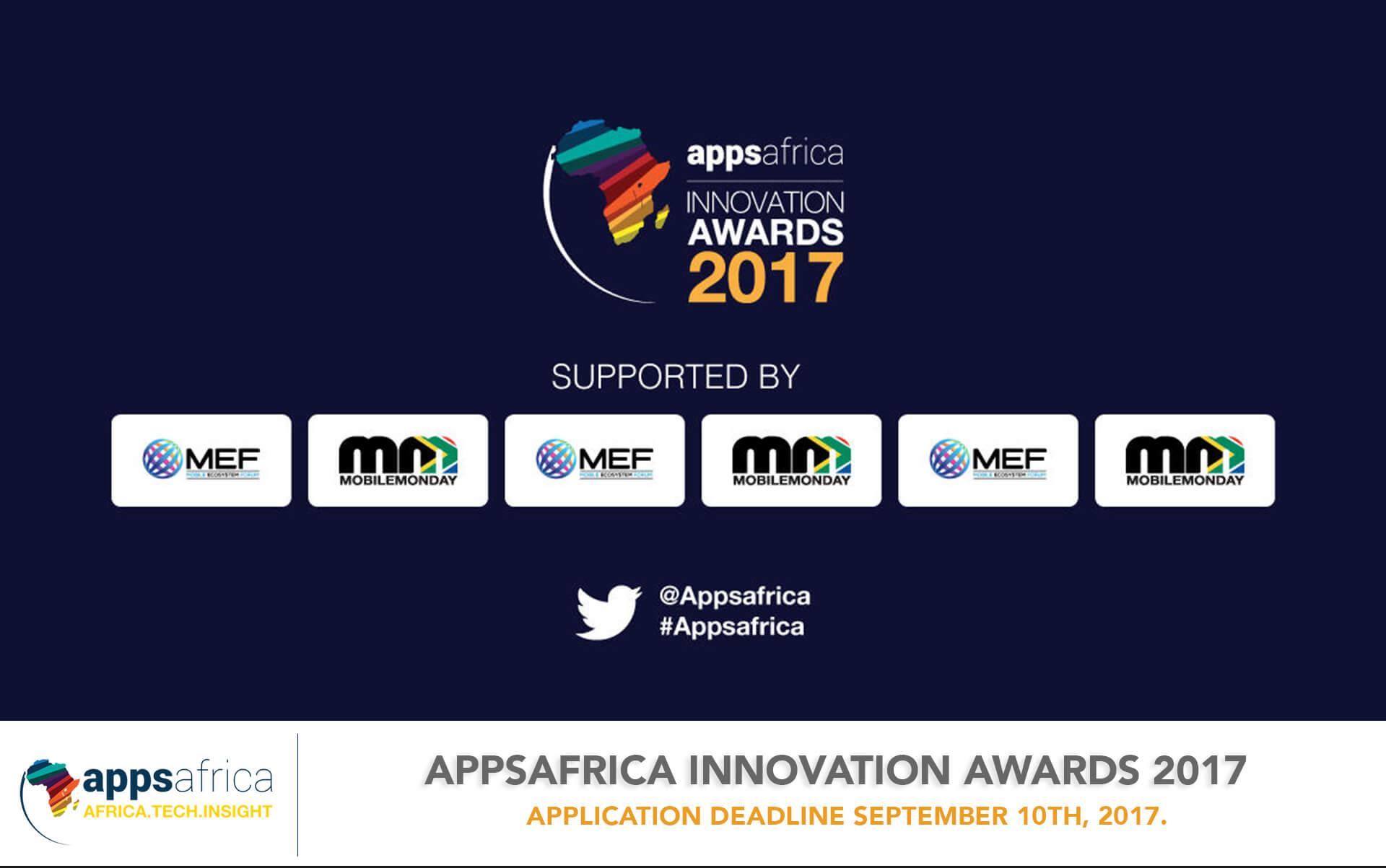 AppsAfrica Innovation Awards 2017 - techgistafrica