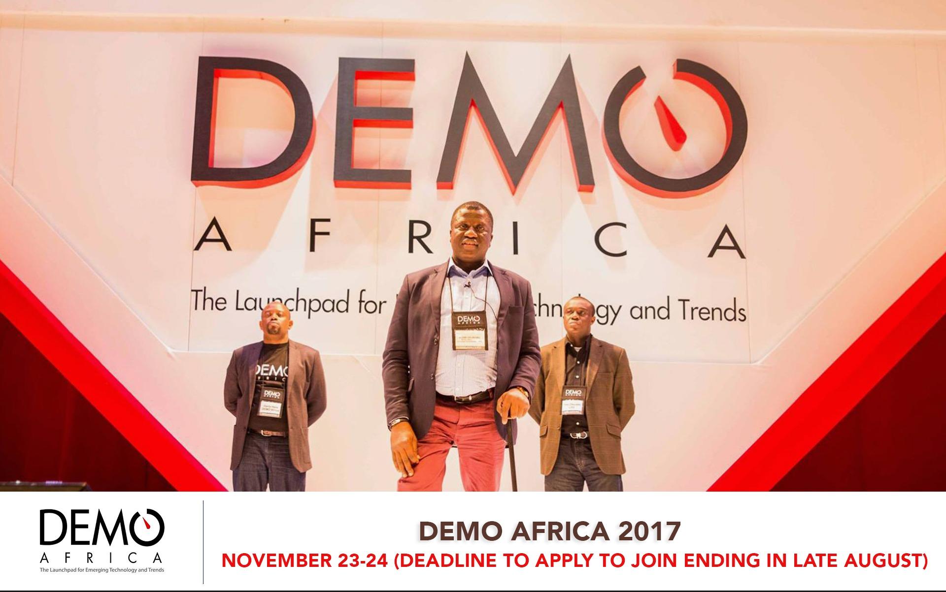 DEMO AFRICA 2017 - Techgistafrica