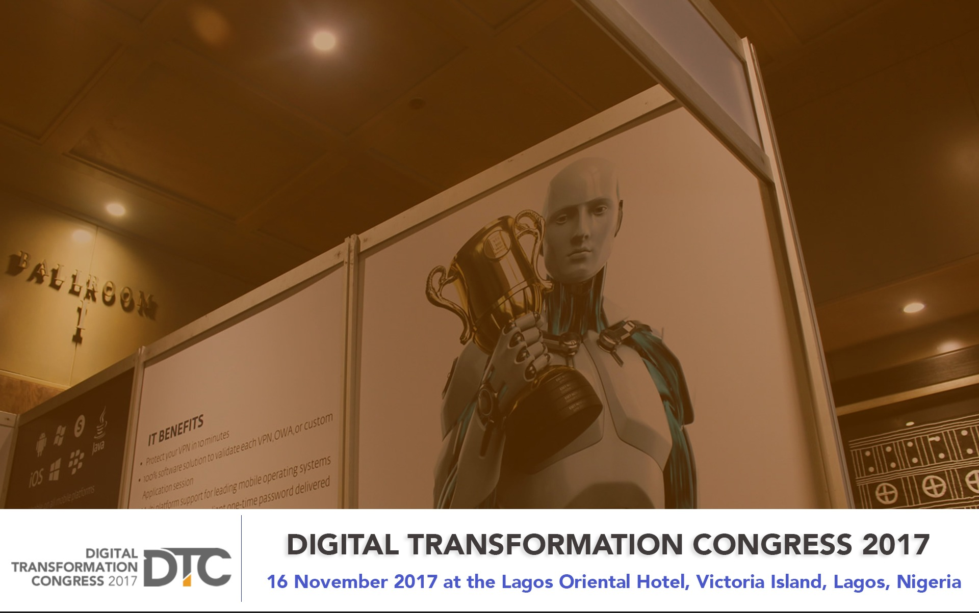 DIGITAL TRANSFORMATION CONGRESS 2017 - Techgistafrica