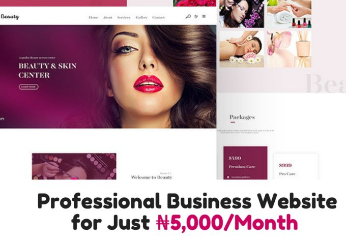 My5KWebsite launches to ease the cost of website development for SMEs in Nigeria - Techgistafrica