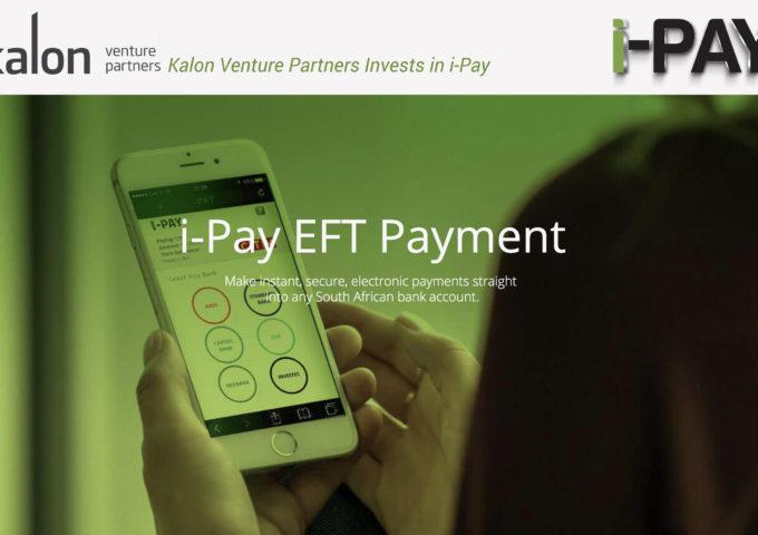 SA fintech startup i-Pay raises funding from Kalon Venture Partners - Techgistafrica