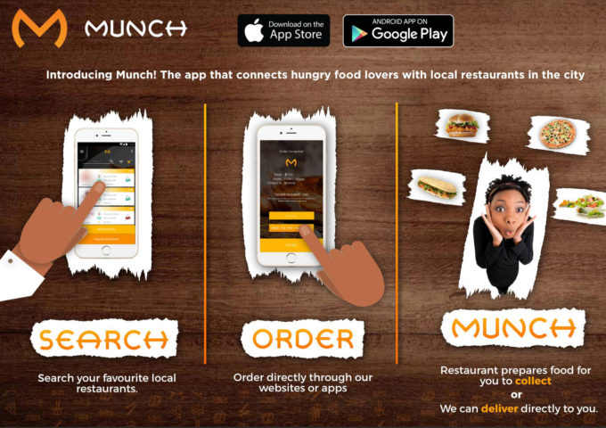 Zimbabwe's Munch sees growth in food delivery space - Techgistafrica
