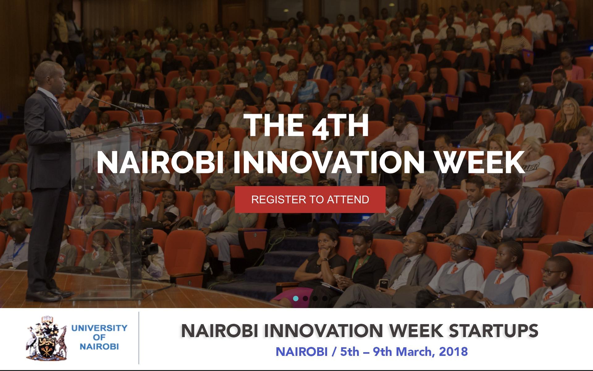 NAIROBI INNOVATION WEEK STARTUPS OPEN FOR STARTUP REGISTRATION - Techgistafrica
