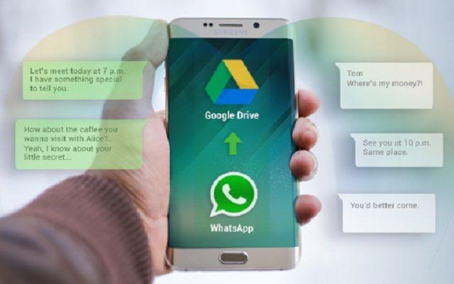 iphone whatsapp backup google drive