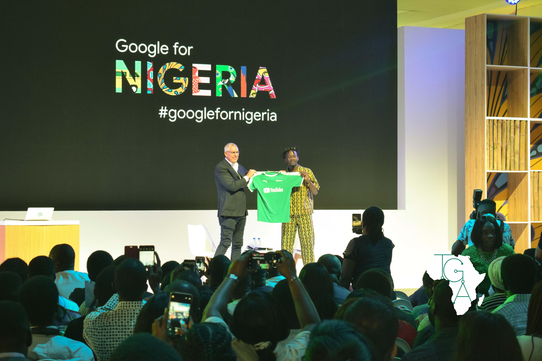 Mr. Eazi at Google For Nigeria Event