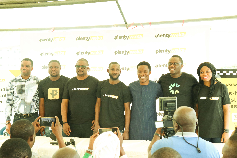 Stakeholders at the Launch of PlentyWaka