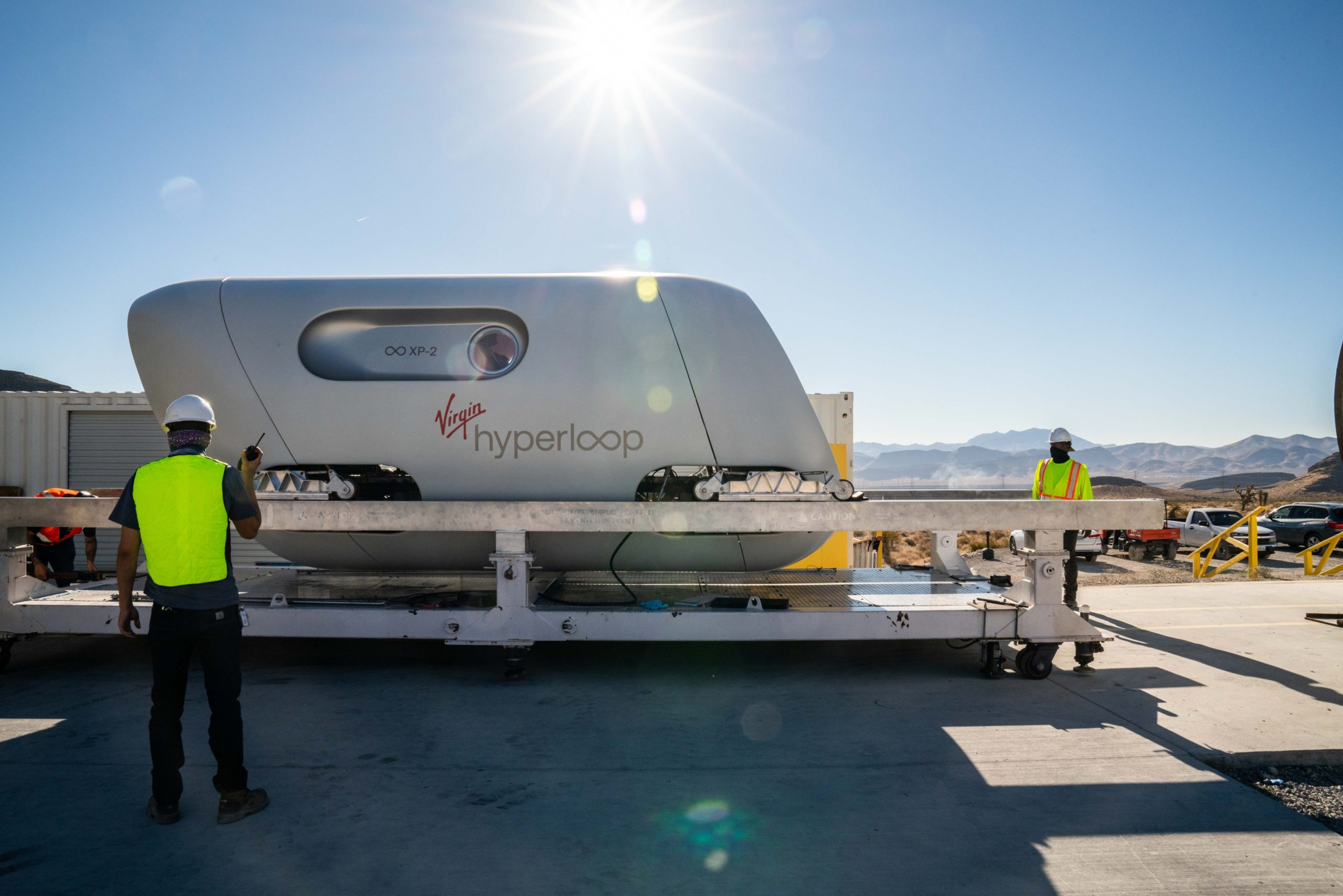 Virgin hyperloop Dubai