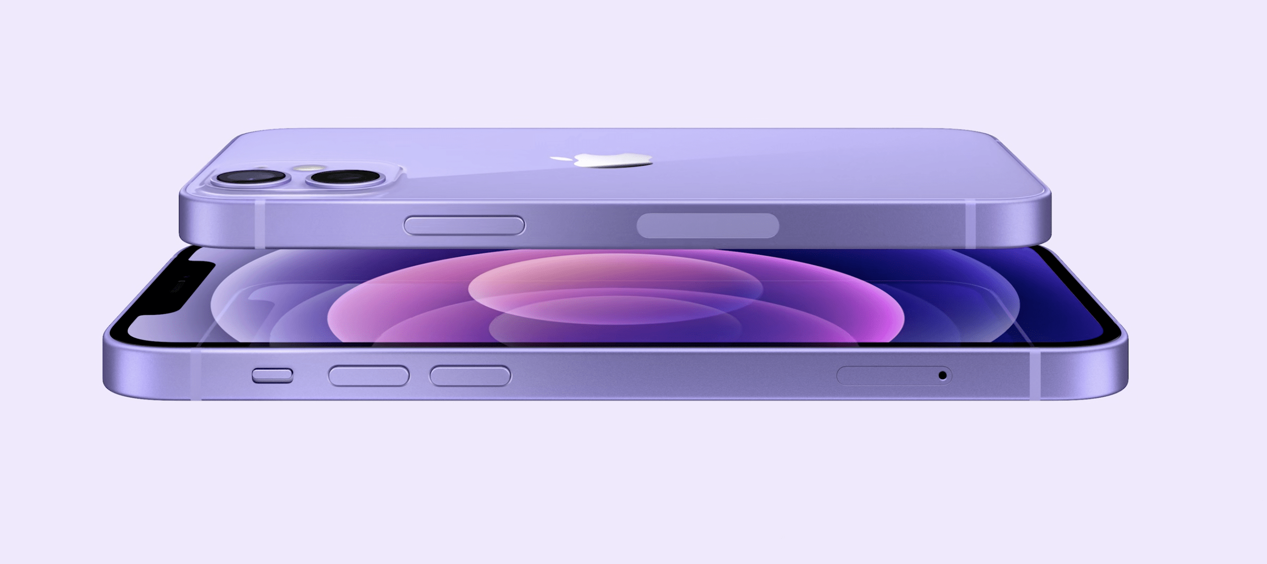 Purple iPhone 12 Apple